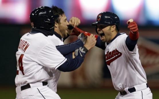 Nick Swisher, Jason Kipnis, Michael Bourn
